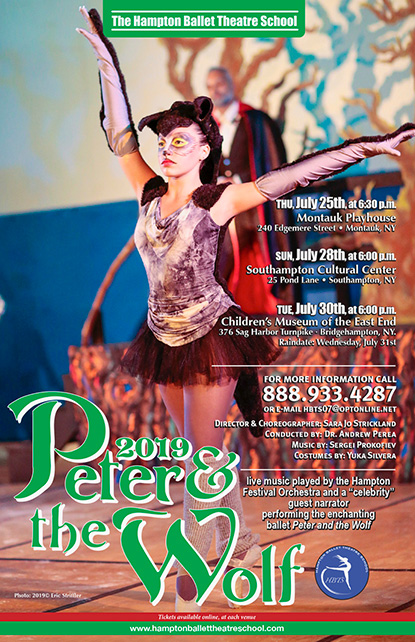 Hampton Ballet Theatre School's Peter and the Wolf